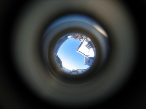 Original peephole image
